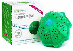 Inventors Place smartklean laundry ball